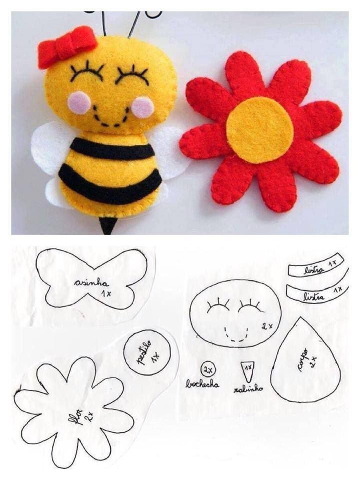 :abelha na flor