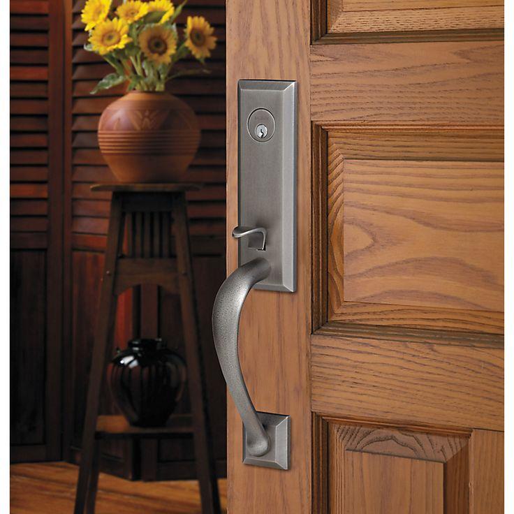 Cody 3 4 Handleset 85352 452 Lent Front Door Hardware