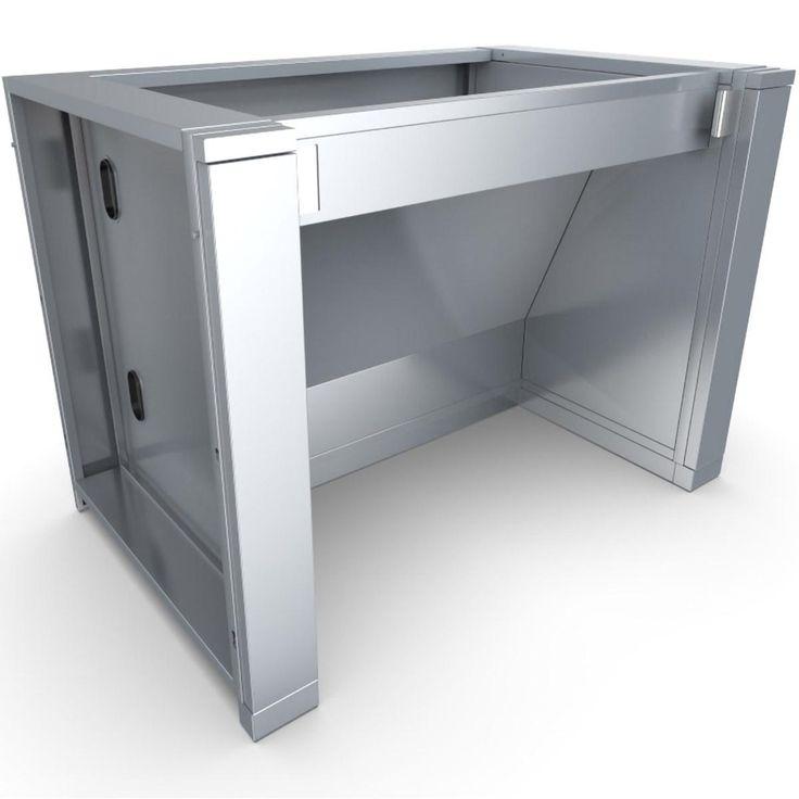 Sunstone 44 Inch Stainless Steel Ada Compliant Sink Cabinet Ada44bc Sink Outdoor Sinks Ada Compliant