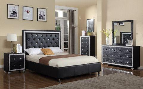 Diamond Style 5 Piece Bedroom Set