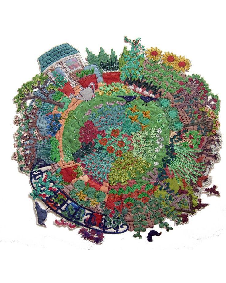 Janet Browne- A walk around the garden - Garden