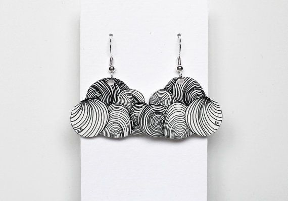 Hey, I found this really awesome Etsy listing at https://www.etsy.com/listing/166171042/cloud-earrings-free-shipping-original