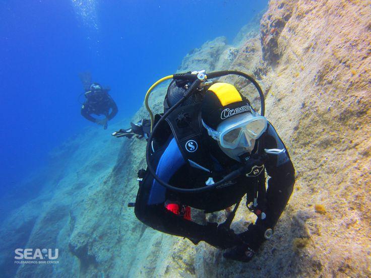 Scuba Diving - Sea.U Folegandros Dive Center
