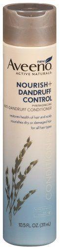 Aveeno Nourish + Dandruff Control Conditioner 10.5 FL oz  http://www.thecoiffeur.com/aveeno-nourish-dandruff-control-conditioner-10-5-fl-oz/