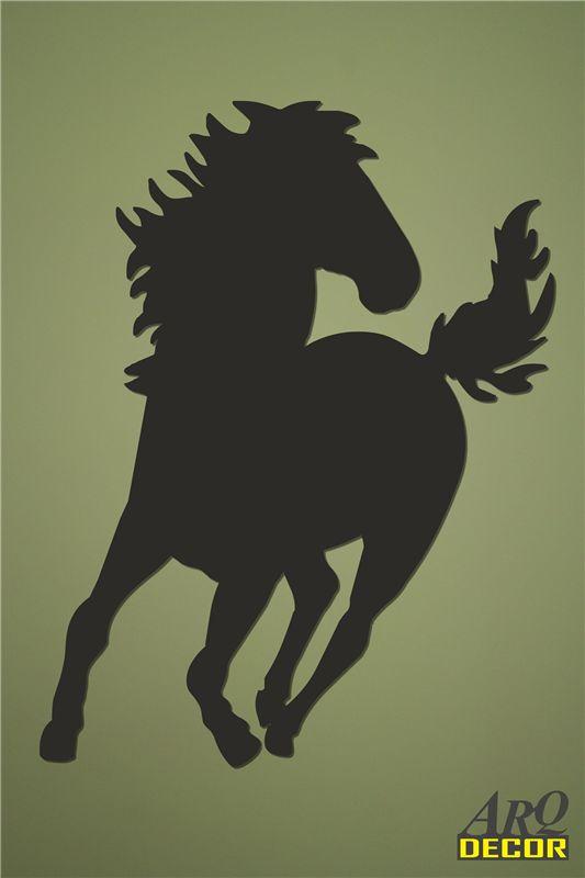 Pracownia Dekoracji ARQ - DECOR - Koń w galopie Nr 08 (NA ZAMÓWIENIE) dekoracje ścienne 3d