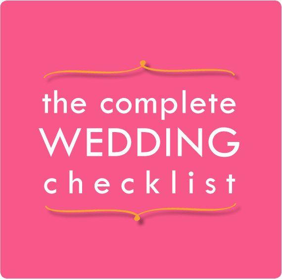 wedding countdown your 12 week checklist event planning