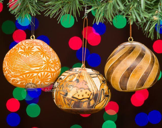 Southwestern Christmas Ornament Set -Andean - Mission Del Rey Southwest