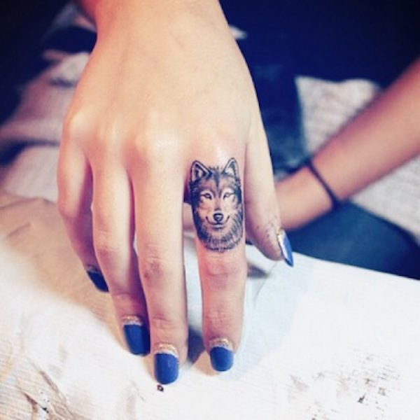 Tattoo Designs Gents: 30 Best Finger Tattoos For Ladies And Gents Images On