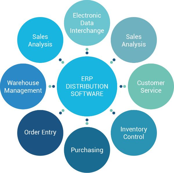 The Advantages of a Distribution Software Solution ERP - sales analysis