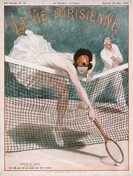 """You will journey back to a more romantic time when viewing this print on canvas designed in a classic French style. """"La Vie Parisienne"""" evokes fond memories of a simpler time when ladies and gentlemen would relax at court.  The theme of the art is playful and flirty, and will make any viewer smile."""