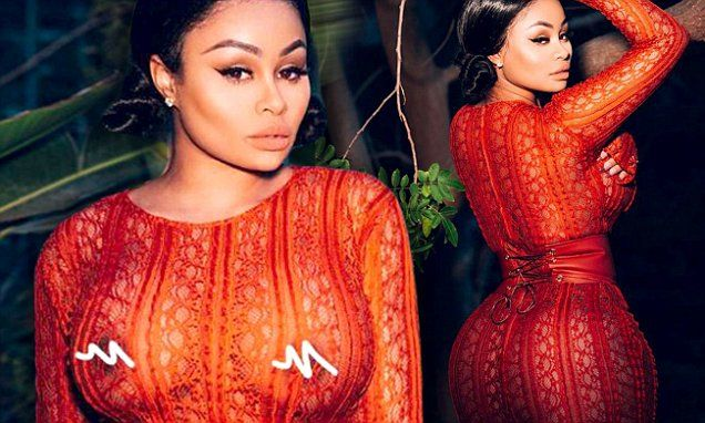 Blac Chyna leaves little to the imagination in racy snap