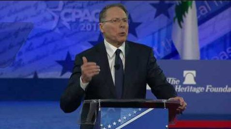 February 24, 2017      NRA Chief Wayne LaPierre tells Conservatives they need to STAND UP [Video]
