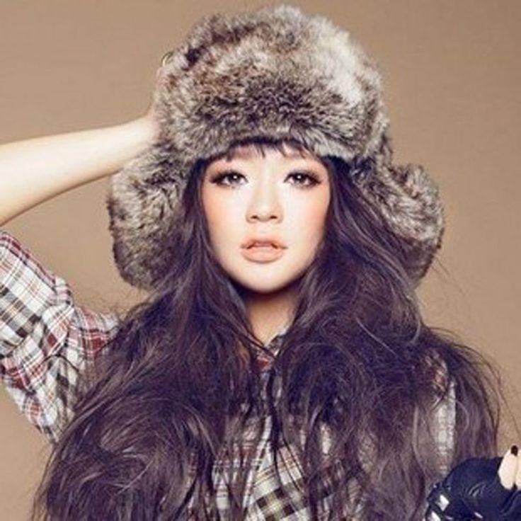 Faux Fur Russian Trapper Hat Womens Mens Ear Warm Winter Beret Cap Earflap Hat