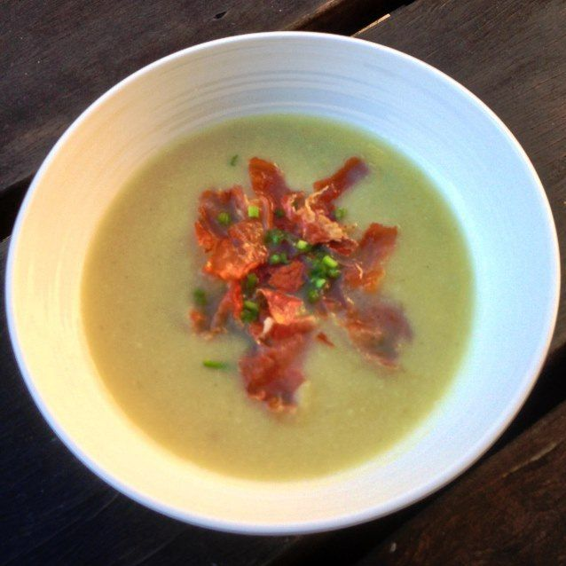Cauliflower, Potato and Leek Soup