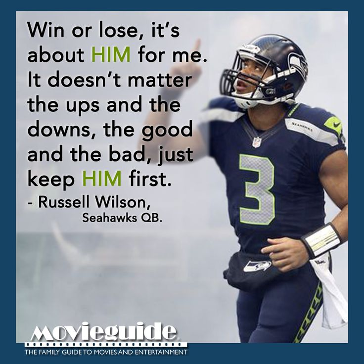 Russell Wilson - quarterback of the Seattle Seahawks #superbowl