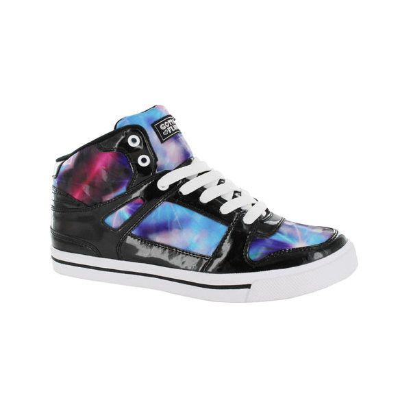 Women's Gotta Flurt Hip Hop V Sneaker ($48) ❤ liked on Polyvore featuring shoes, sneakers, blue, casual, laced up shoes, blue patent leather shoes, patent leather lace up shoes, blue patent shoes and gotta flurt sneakers