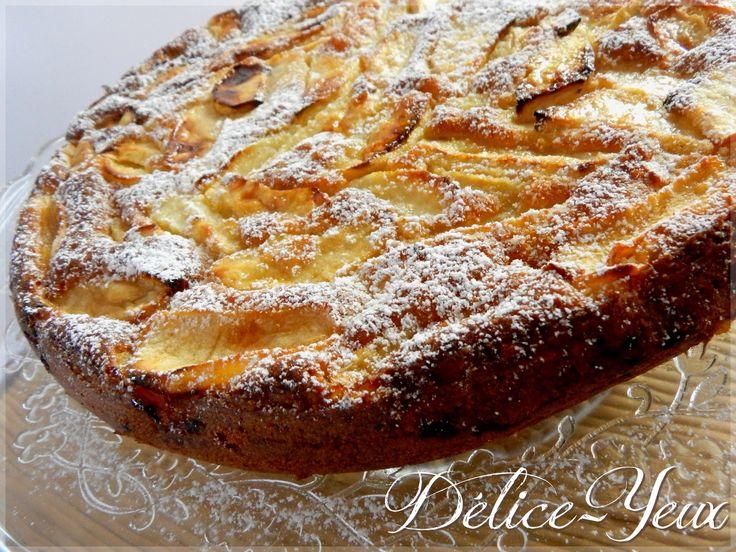 """Gâteau """"invisible"""" aux Pommes"""