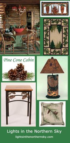 Do you love pine cones and cabins?  Lights in the Northern Sky has just the right touch to add pinecone cabin charm to your home! Shop now!