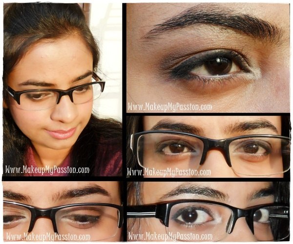 Eye makeup Tutorial for Glass/Contact lens wearers