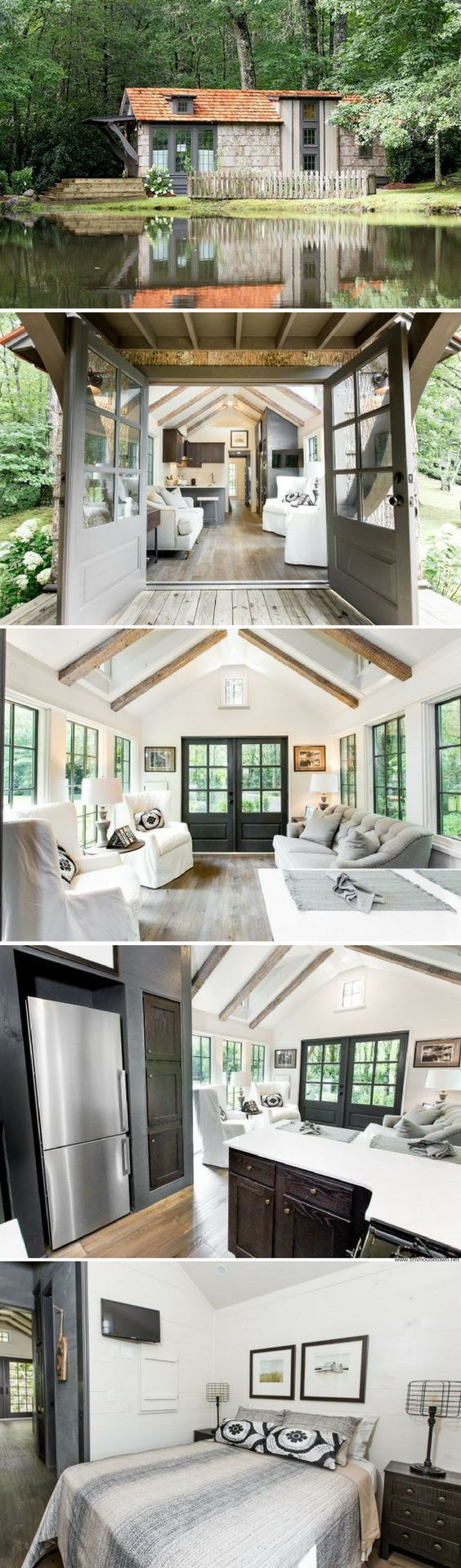 House And Homegirl Modern Cottage Inspiration - The low country a luxury southern inspired park model home from clayton homes