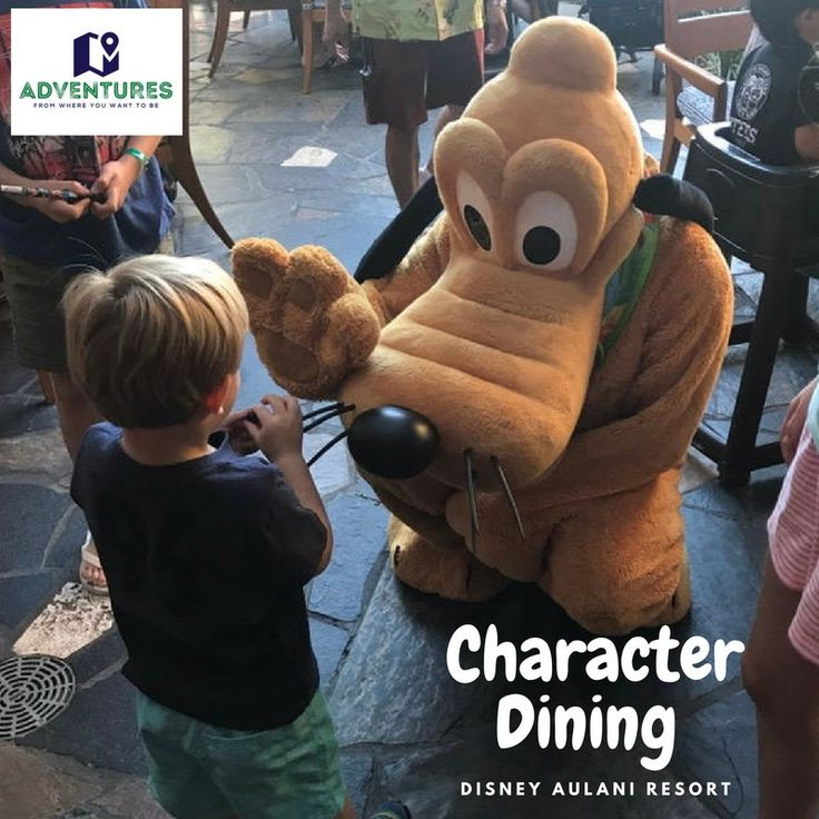 "Laughter is timeless, imagination has no age, dreams are forever."" Walt Disney Immerse yourself in the Magic of A Disney Aulani Character Dining Breakfast."