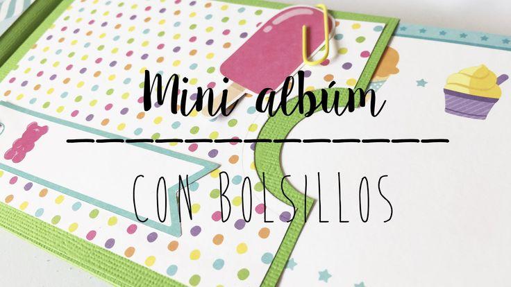 MINI ALBUM CON BOLSILLOS