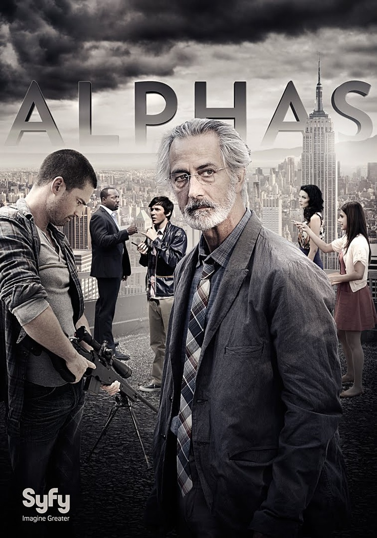 Alphas. I haven't seen many episodes yet, but it's a pretty interesting concept. It's kind of like CSI meets Xmen.