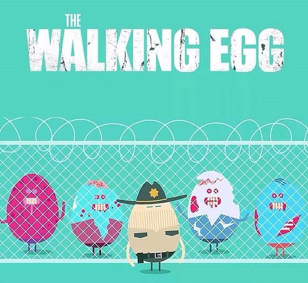 The Walking Egg