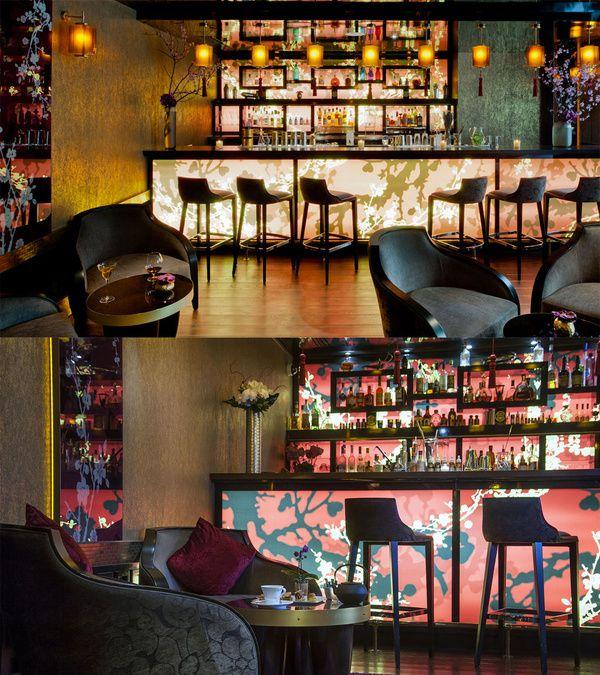 Le + japonisant : le bar du Buddha-Bar Hotel Paris