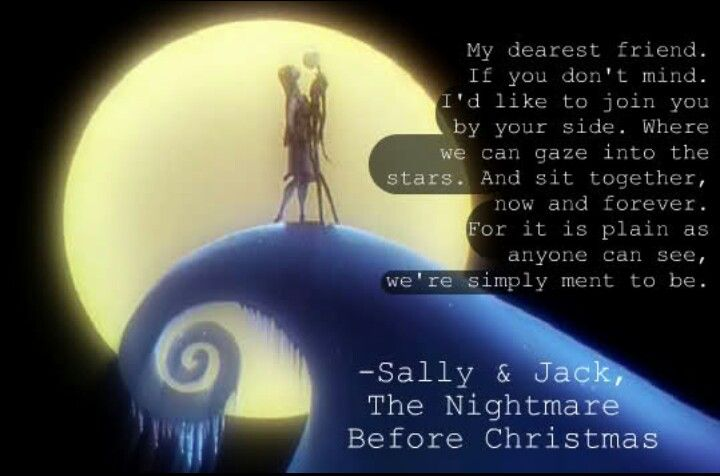 Love Quotes From Nightmare Before Christmas. QuotesGram