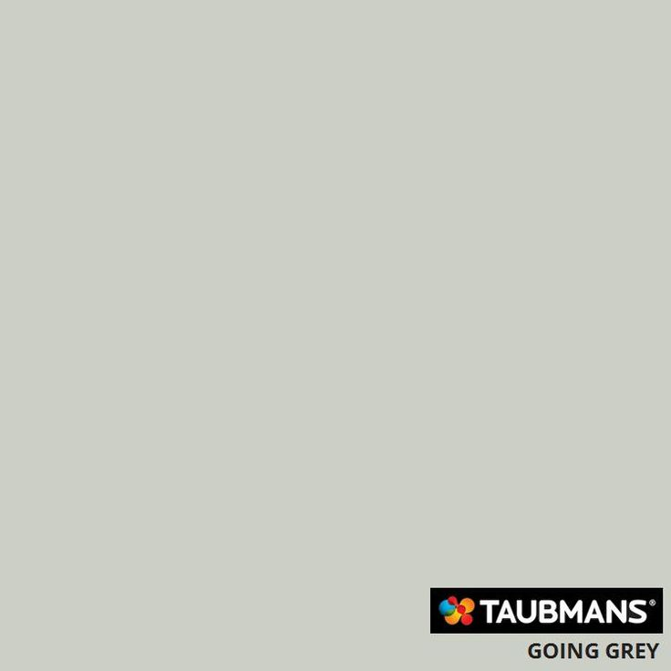 Taubmans Colour Going Grey: for exterior weatherboarding, verticals on balustrade, gable end, etc