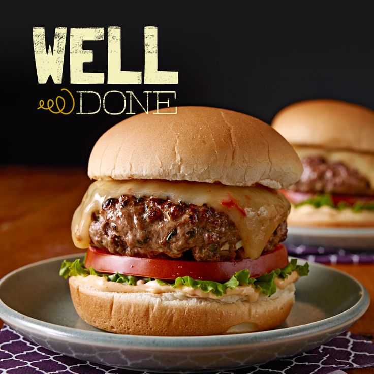 Give your BBQ a little gourmet flare with this recipe for spicy beef burger patties mixed with adobo sauce and cilantro, then topped with Chipotle white cheddar. Your guests will compliment you on a job well done indeed.
