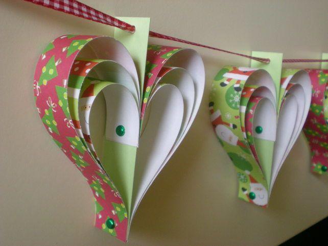 kerst papier harten Gors