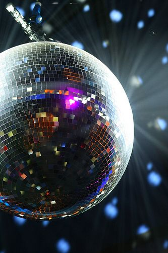 This disco ball represents dancing, for more ideas please visit www.cfentertainment.co.uk