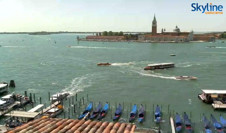 Live Cam Venice - St. Mark's Basin, San Giorgio Island