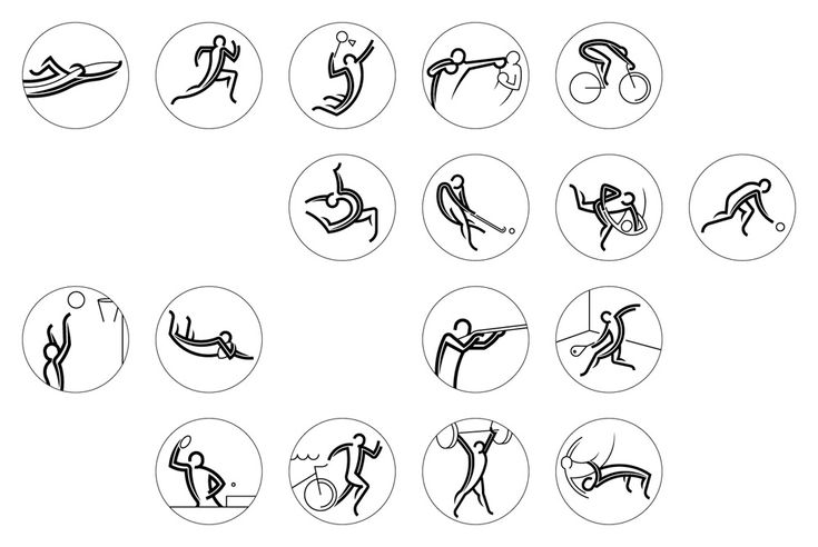Pictogramas / New Look of the Games for 2014 Commonwealth Games by Tangent