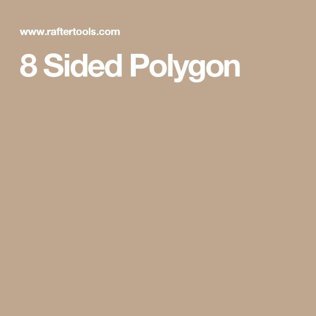 8 Sided Polygon
