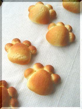 ぷにぷに☆ネコ足パン