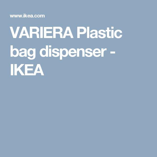 Ikea Rationell Variera Plastic Bag Dispenser ~ over Plastic Zak Afgever op Pinterest  Plastic Zakken, Plastic