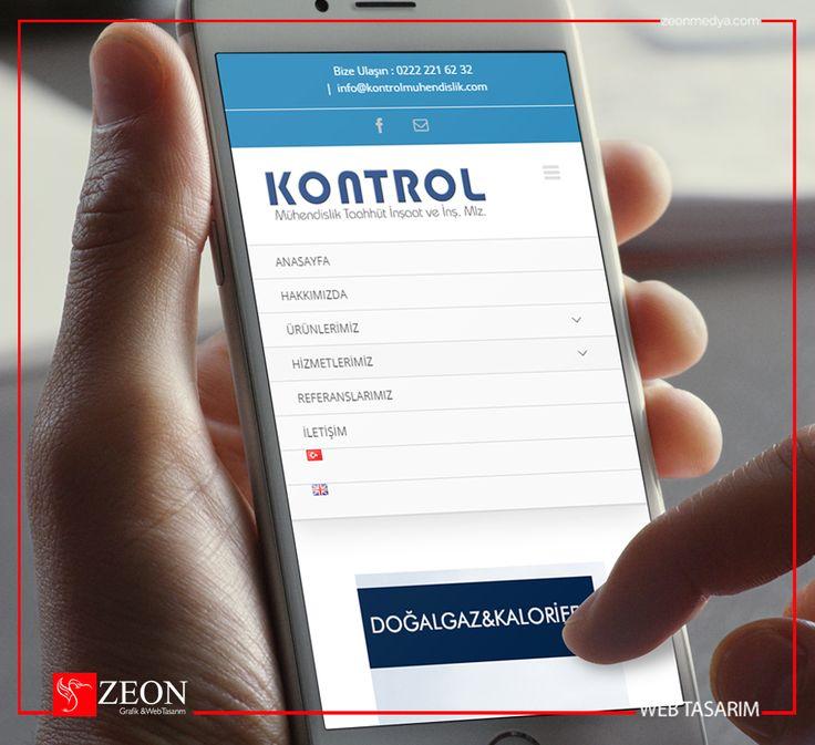 Zeon Medya | Kontrol Mühendislik Mobil Web Tasarım