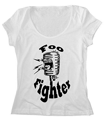 Women's Scoop Neck Foo Fighters T-Shirt FREE SHIP_$24.25_100% Cotton  http://www.amazon.com/dp/B019B9X908/ref=cm_sw_r_pi_dp_stcsxb0NY2QFE