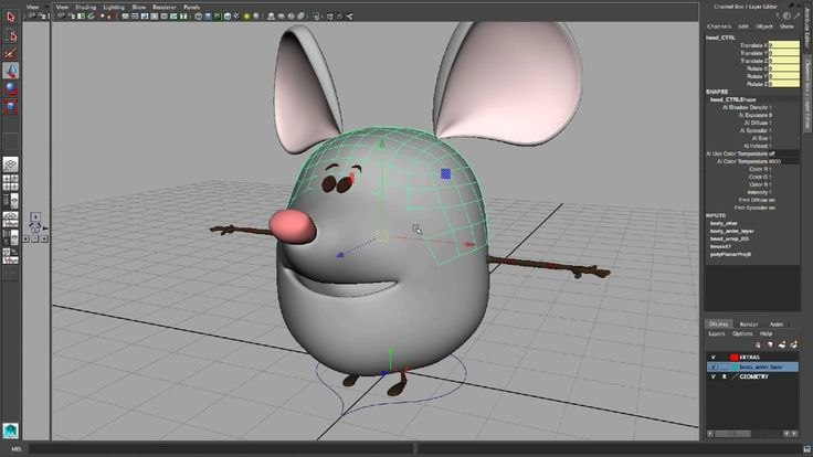 Mouse #Rig for #maya Overview