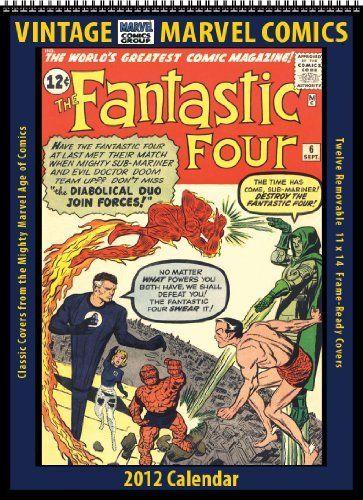 Marvel Comics 2012 Vintage Calendar by Asgard Press. $18.95. Publisher: Asgard Press (September 30, 2011). Publication: September 30, 2011