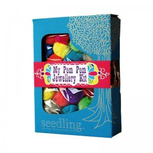 Seedling My Pom Pom Jewellery Kit from Good Things For Kids