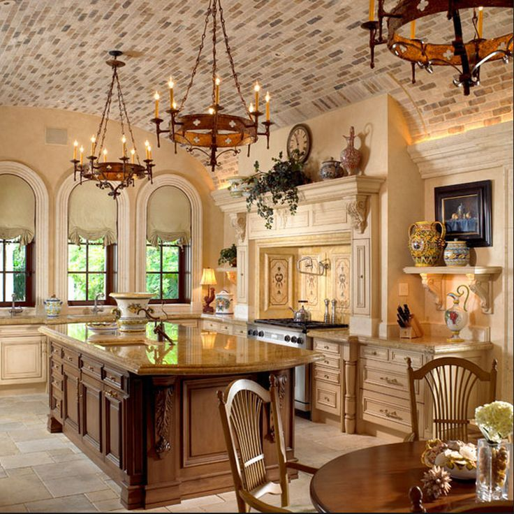 Ultimate kitchens pretty kitchen with lots of tuscan for Kitchen designs with lots of windows
