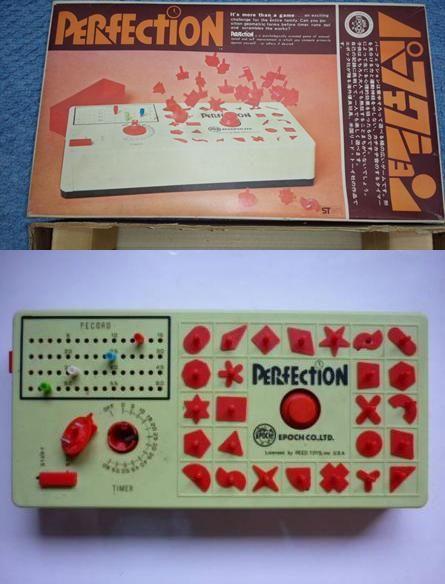パーフェクション 1972年、エポック社から発売されたパズルゲーム。