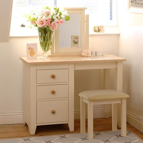 mottisfont painted 3 drawer dressing table l153 with free delivery the cotswold company
