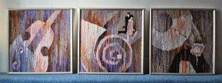 Clockwork 20th Tapestry Natalia Rozhkova #weaving #tapestry #гобелен #ткачество