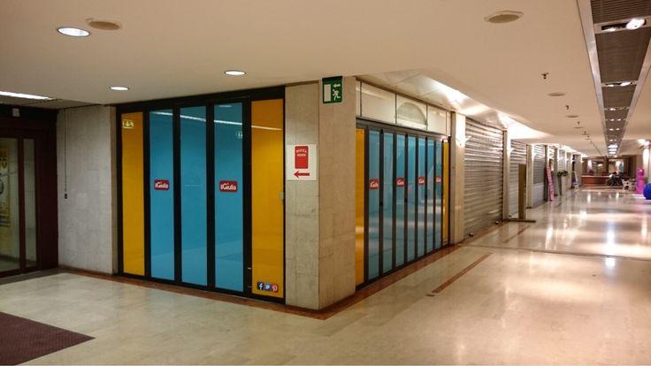 Nuova copertura negozio Centro Commerciale Il Giulia