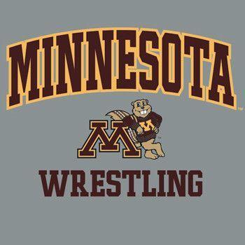 J America University of Minnesota Wrestling Long Sleeve T Shirt